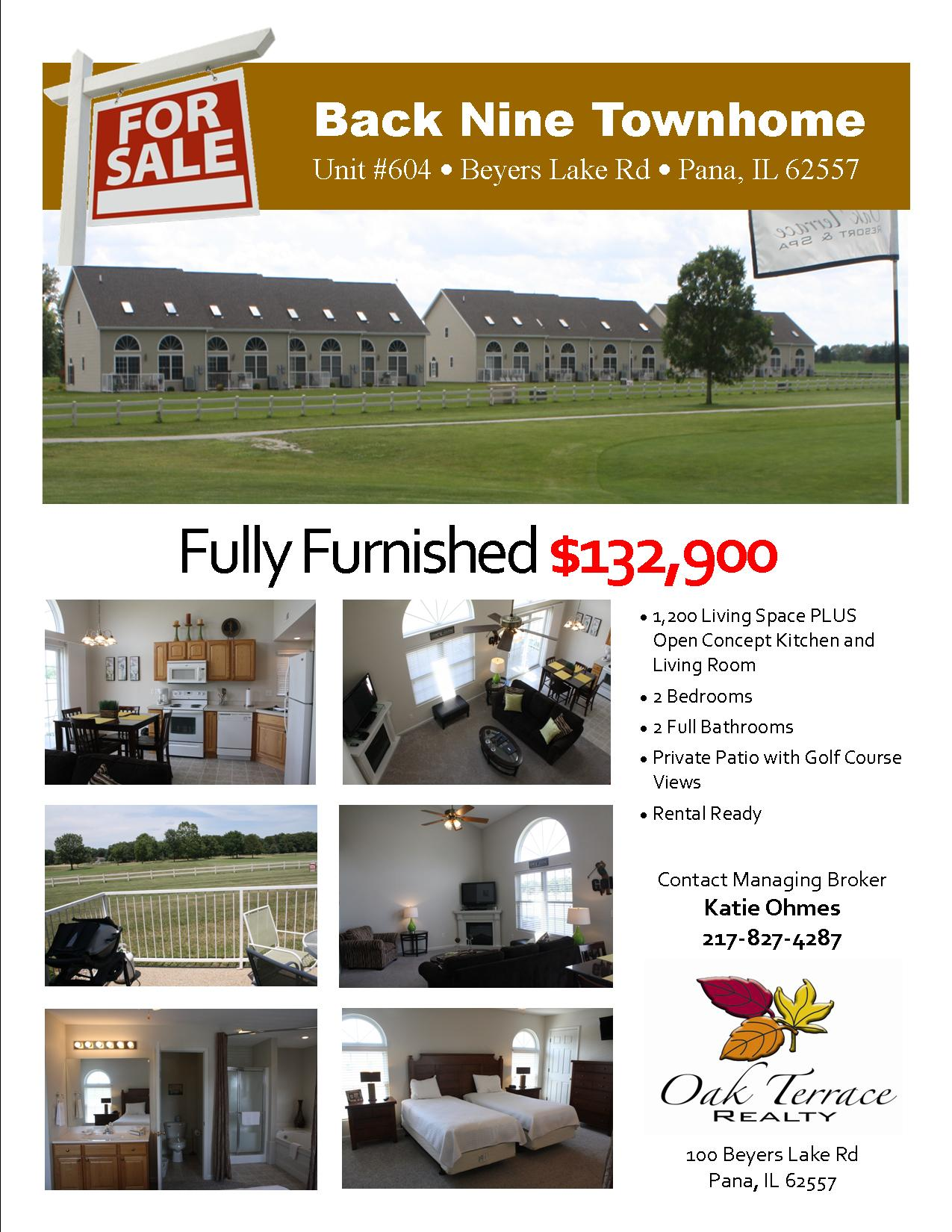 604 Townhome Flyer