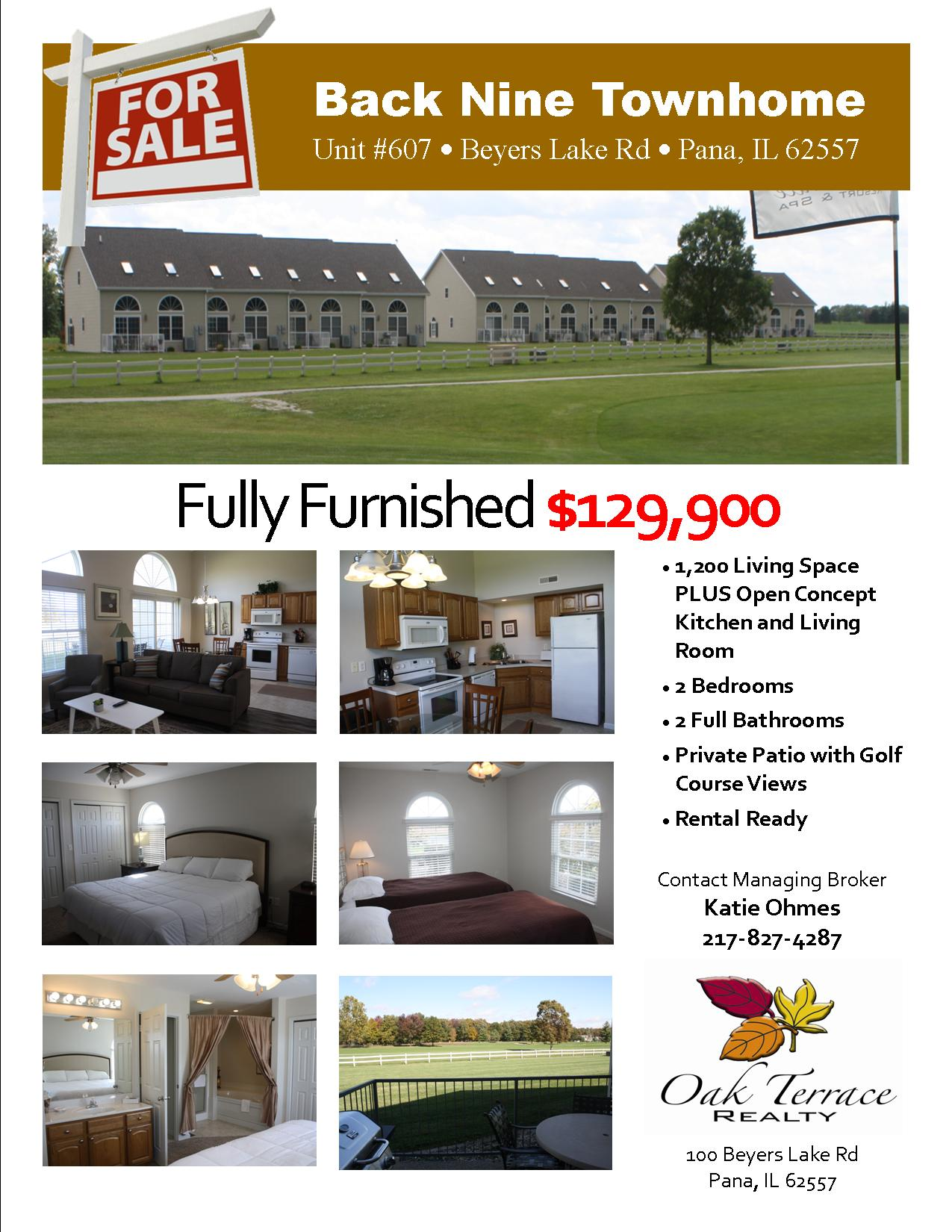 607 Townhome Flyer